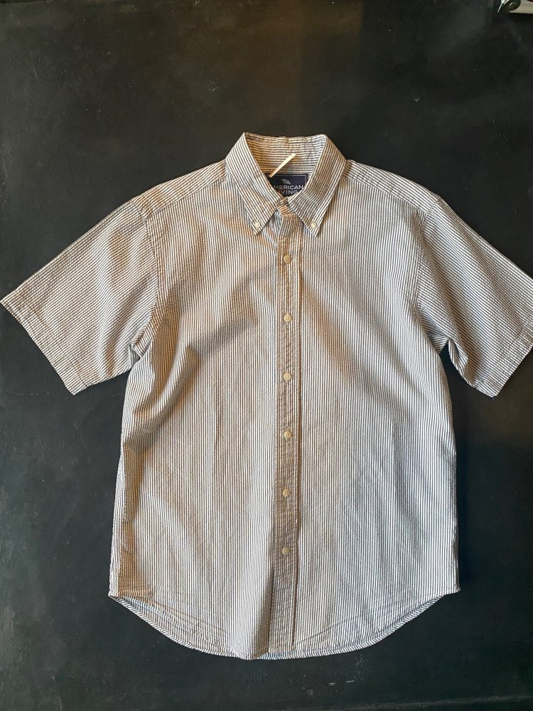 Used Strips Cotton Shirts Men's M but looks L