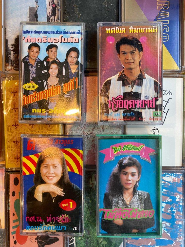 タイミュージック カセットテープ