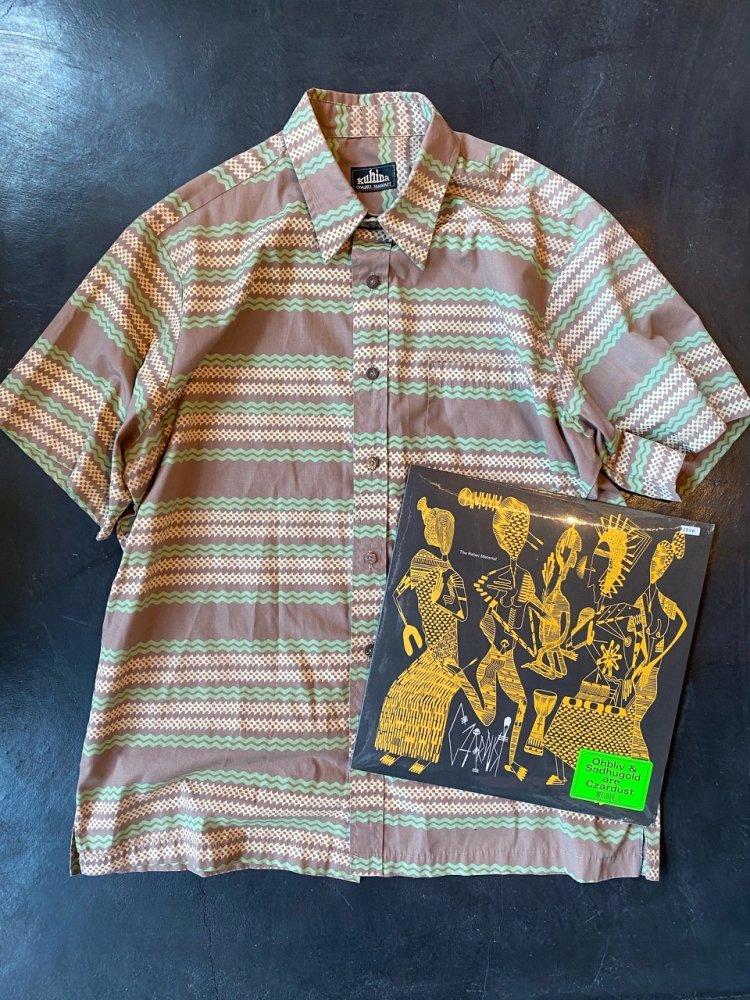 エスニック柄shirts-used
