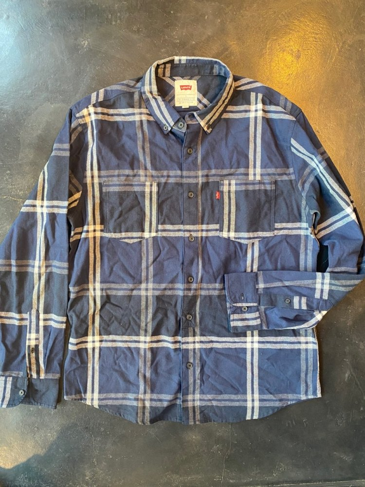 Levi's Cotton Nel Shirts -Used