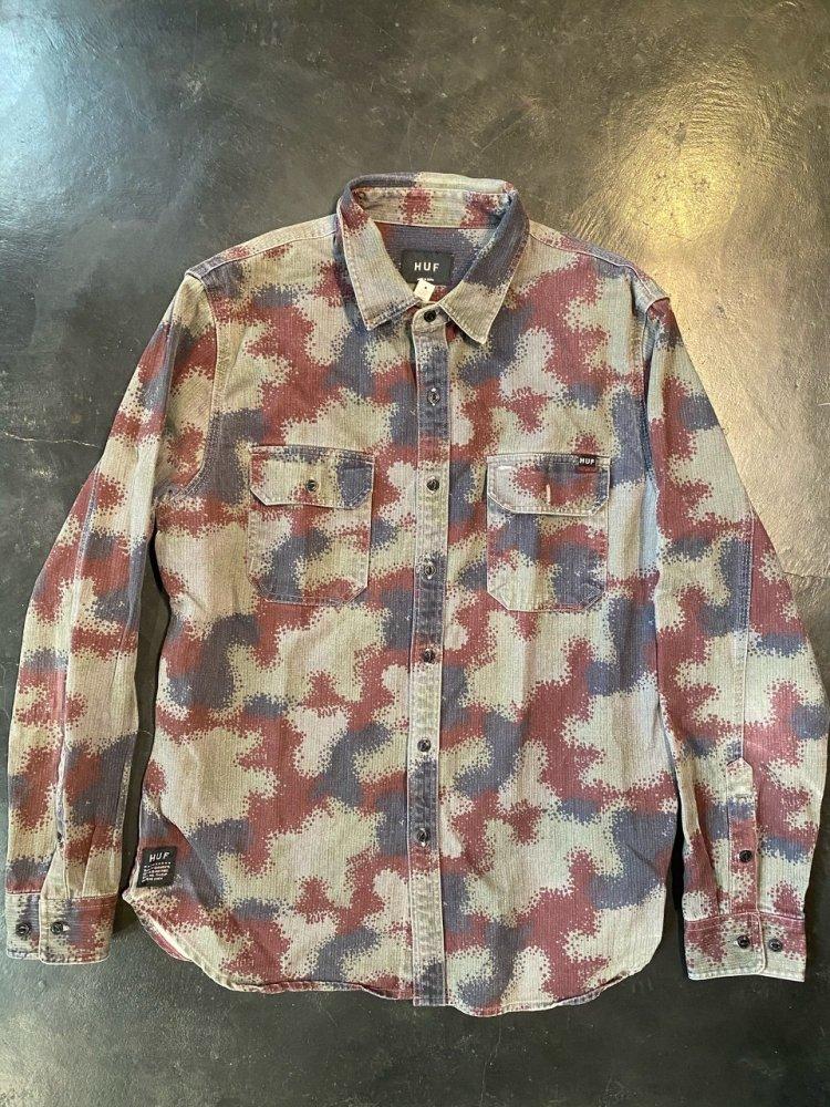 HUF ARMY Shirts -used