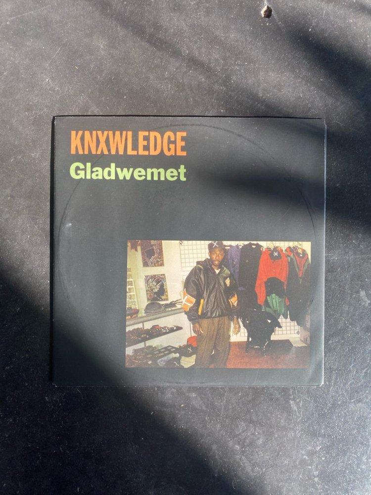 Knxwledge・Gladwemet 7inch