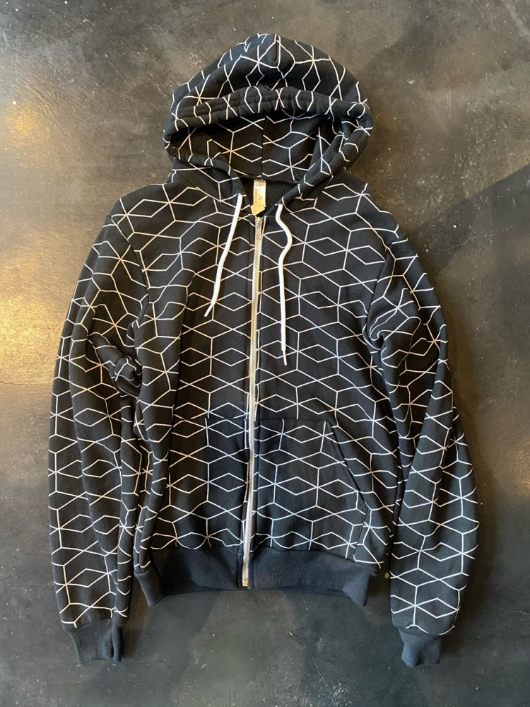 American Apparel Used Zip Hoodie Men's S