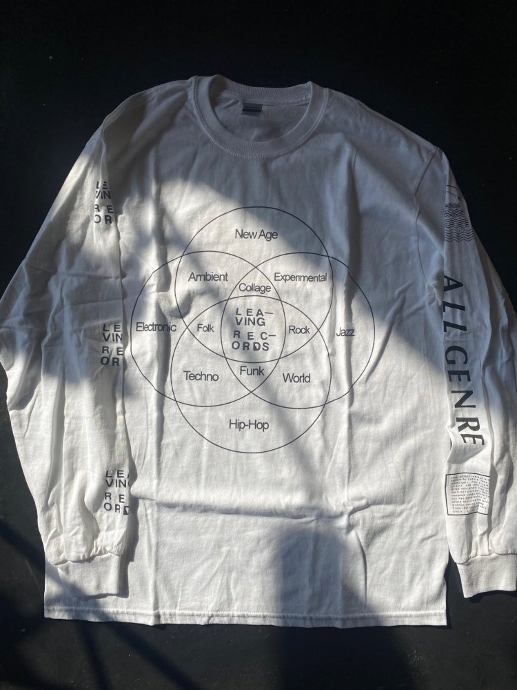 Leaving Records All genre Long sleeve T shirts (NEW)