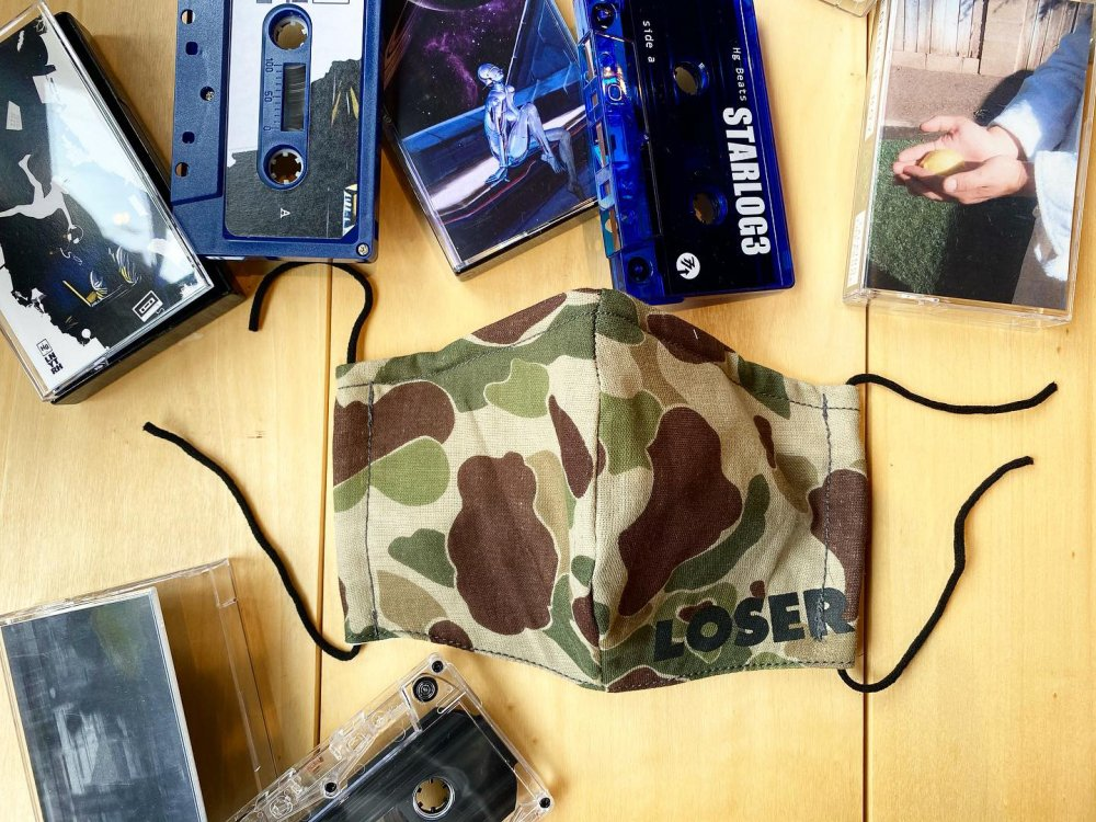 LOSER MASK -new- CAMOUFLAGE