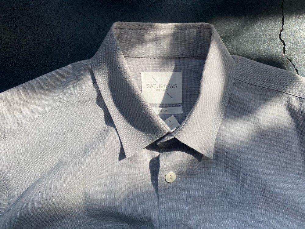 Saturdays Surf NYC cotton Shirts Mens M but looks L -used-