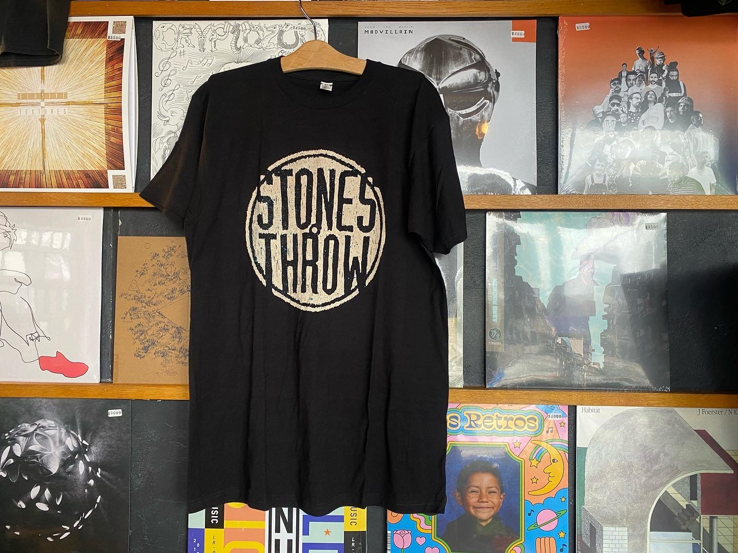 Stones Throw vintage logo T shirts -new-
