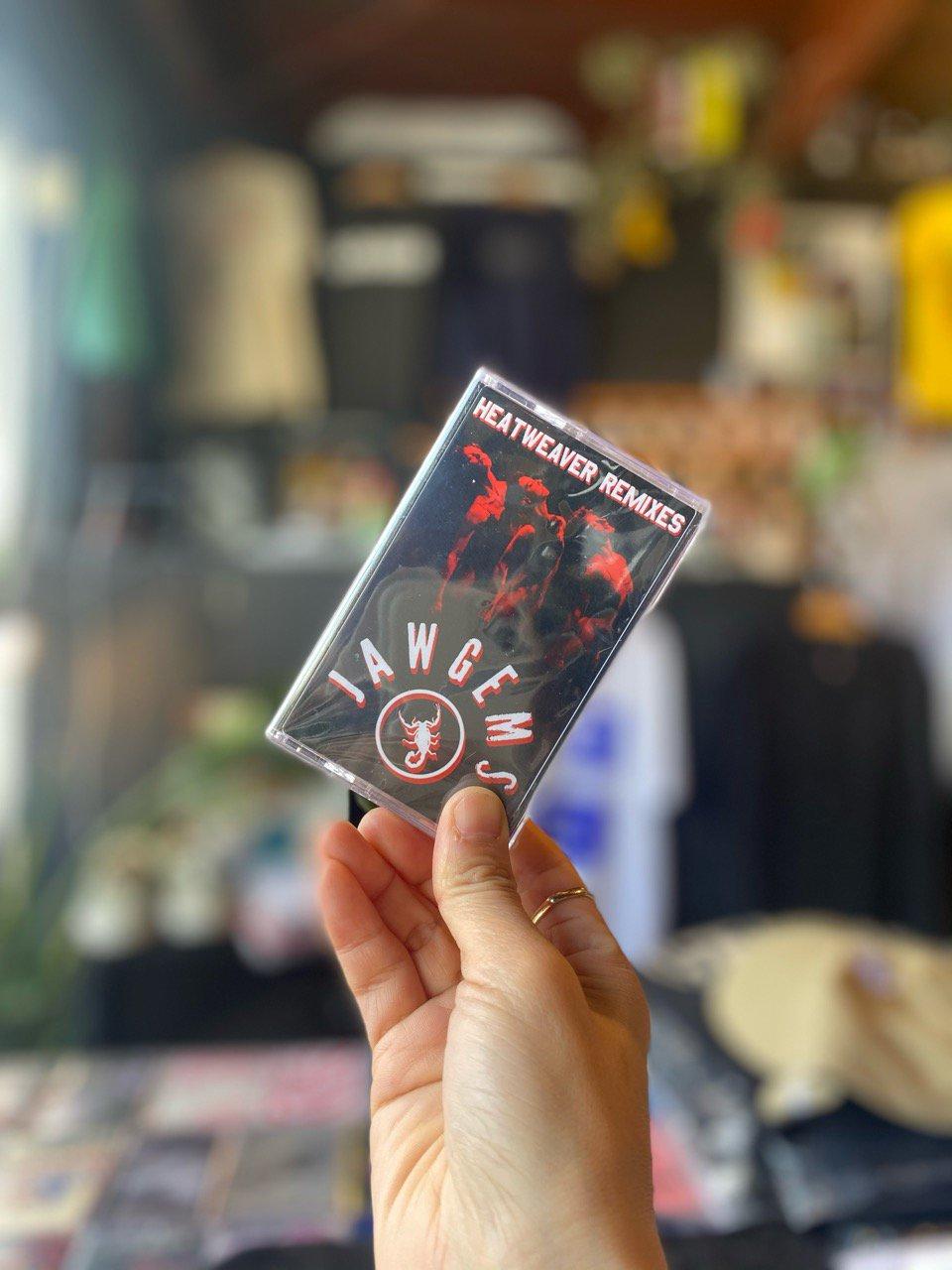 JAW GEMS / HEATWEAVER REMIXES ・ Cassette Tape