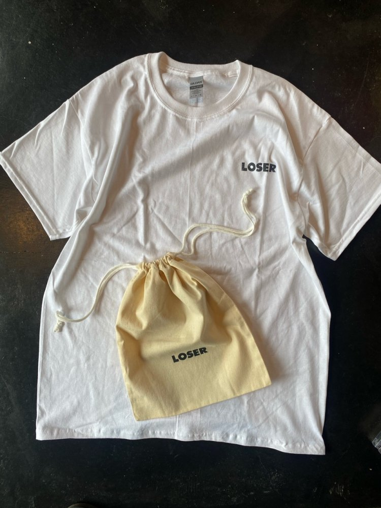25th 記念企画 限定6個 巾着付き LOSER Mini LOGO T shirts / New
