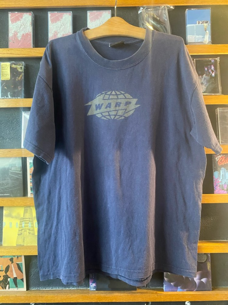 -Vintage- Early 2000's Warp Records T shirts