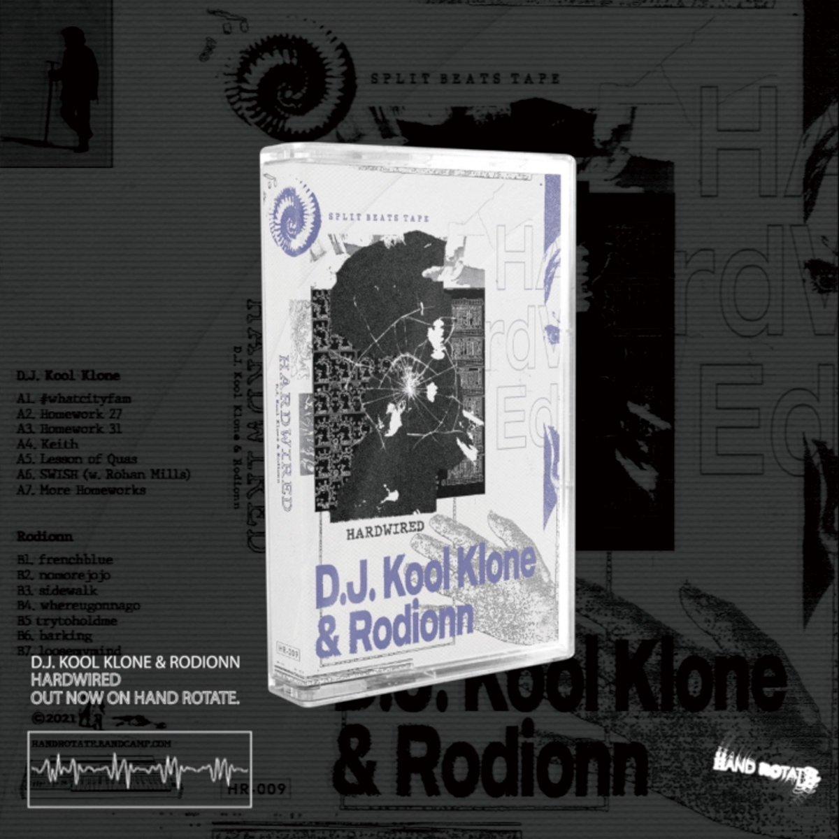 D.J.KOOL KLONE&Rodionn -Hardwired( Hand Rotate) Hip Hop