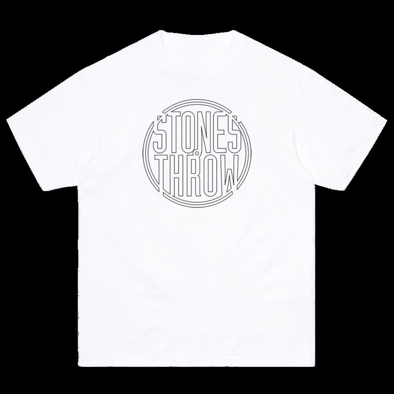 Stones Throw Logo T shirts -WHITE-NEW