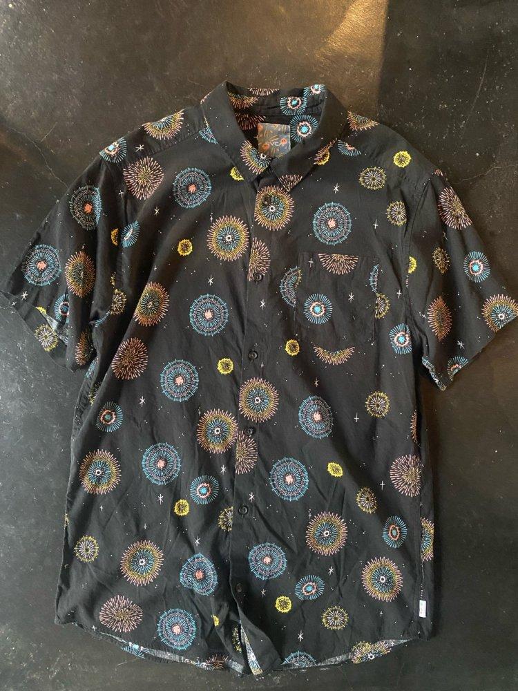 RVCA Cotton 柄Shirts -used- men's L