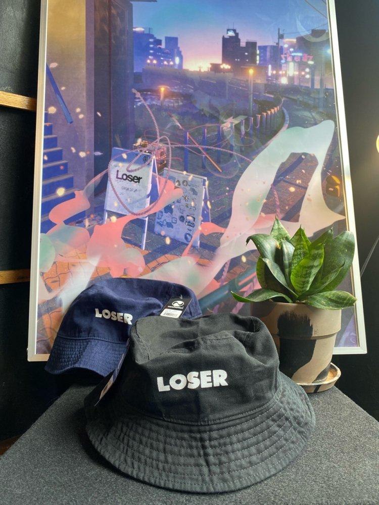 Cotton LOSER LOGO HAT -new-