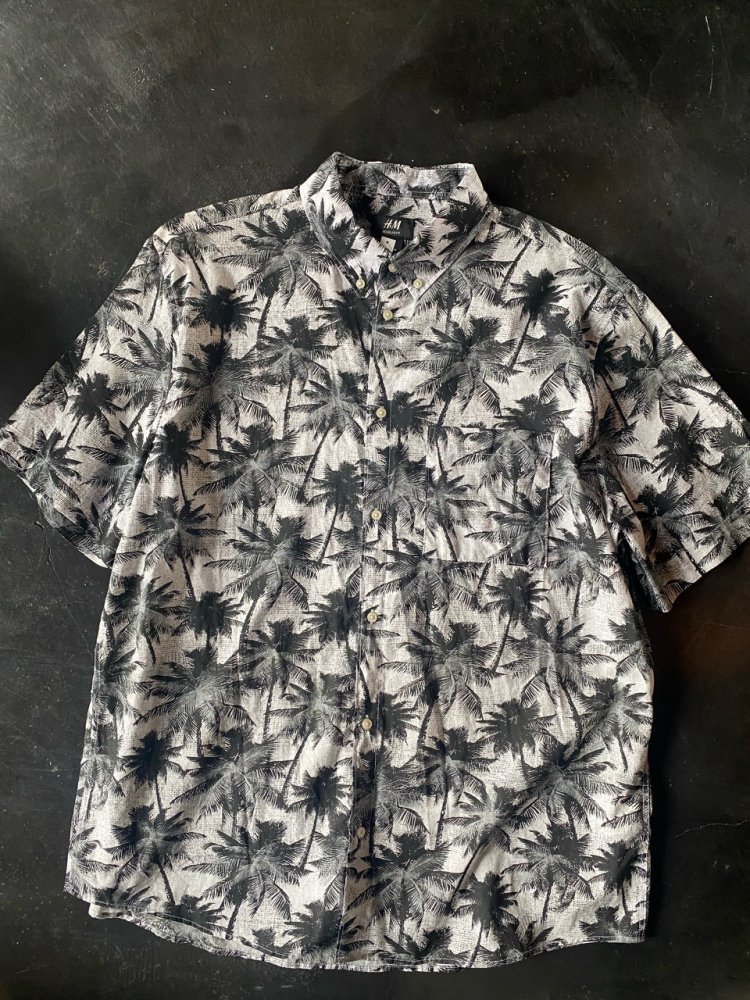 Cotton Used Aloha Shirts XL