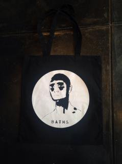 ANTICON / BATHS tote records bag