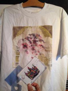 teebs/LACA/ ESTARA アルバムジャケット Tシャツ