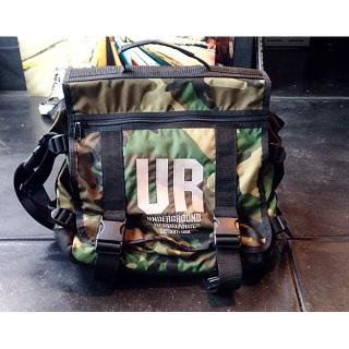 UNDERGROUND RESISTANCE records bag