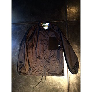 KILLER BRAND SIKKOKU BLACK NYLON COACH JACKET