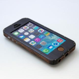 iPhone5ケース 黒ヘアーライン