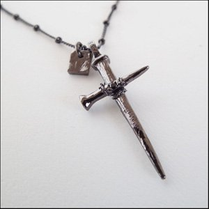 Hammer cross(Black)