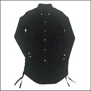 ドレスシャツ(BLACK)