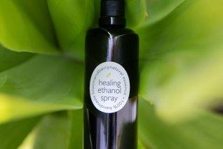 healing ethanol essential oil  spray