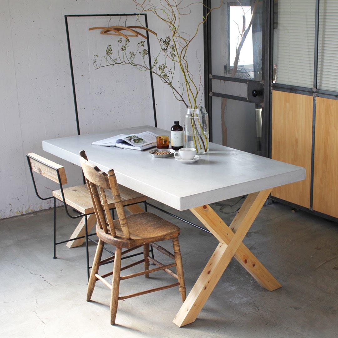 MORTEX DINING TABLE -モルタルダイニングテーブル-