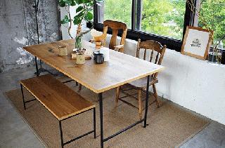 OAK SIMPLE DINING TABLE -オークシンプルダイニングテーブル-