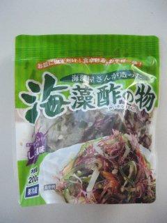海藻屋さんが造った 海藻酢の物 しそ風味(150g)