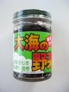 海藻たっぷり 大海の野菜 のり・ひじき・もずく・昆布(170g)
