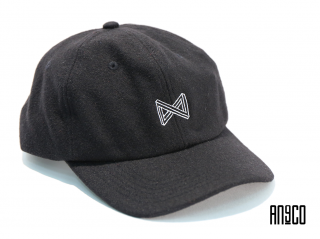 CI LOGO WOOL CAP(BLACK)