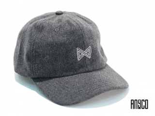CI LOGO WOOL CAP(GRAY)