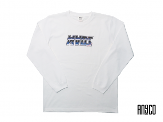 RETRO FUTURISM HEAVYWEIGHT L/S(WHITE)