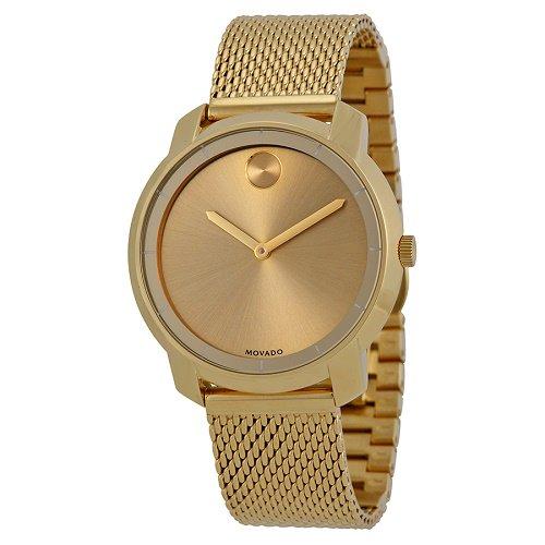 【Movado/モバード】 クオーツ腕時計 Bold ゴールド レディース ウォッチ MV3600242