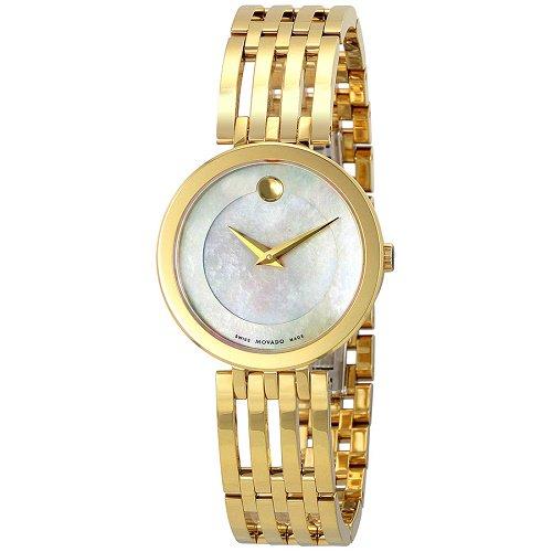 【Movado/モバード】 クオーツ腕時計 Esperanza パールダイアル ゴールド レディース ドレスウォッチ MV06070…