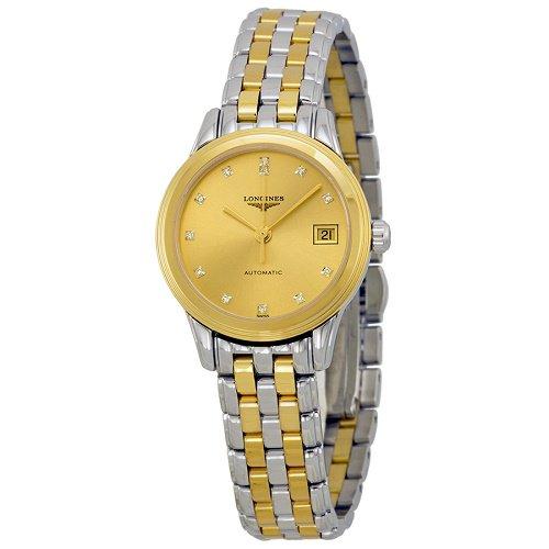 【Longines/ロンジン】 自動巻き腕時計 La Grande Classique シルバー×ゴールド ダイアモンド レディース ドレスウォッチ LNG427433…