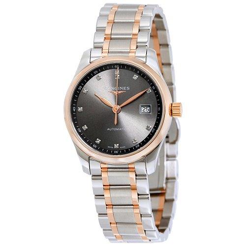 【Longines/ロンジン】 自動巻き腕時計 Master Collection ダイアモンド レディース ウォッチ LNG22575077