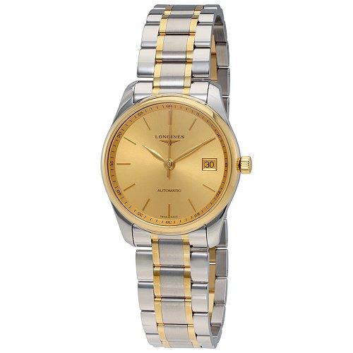 【Longines/ロンジン】 自動巻き腕時計 Master Collection ゴールドダイアル レディース ウォッチ LNG251853…