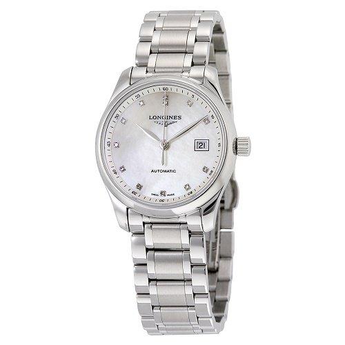 【Longines/ロンジン】 自動巻き腕時計 Master Collection パールダイアル ダイアモンド レディース ウォッチ LNG225748…