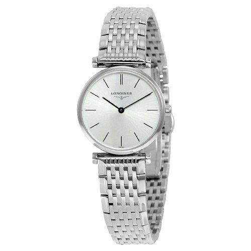 【Longines/ロンジン】 クオーツ腕時計 La Grande Classique Silver シルバーダイアル ステンレス レディース ウォッチ LNG420947…
