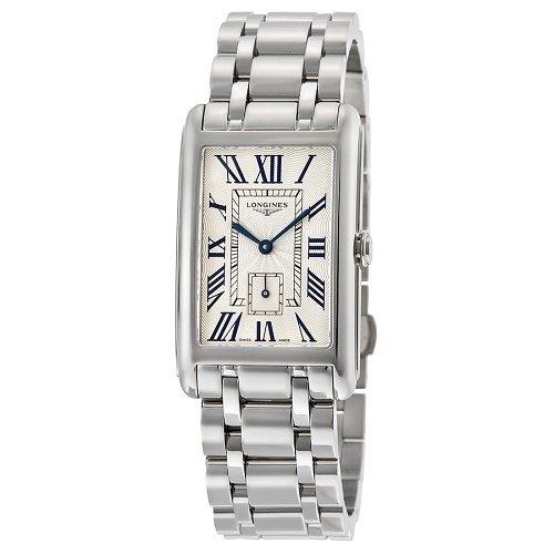 【Longines/ロンジン】 クオーツ腕時計 Dolce Vita シルバーダイアル レクタングル レディース ドレスウォッチ LNG575547…