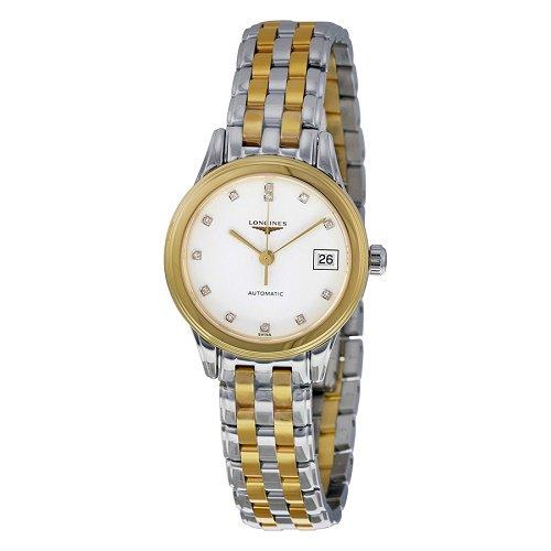 【Longines/ロンジン】 クオーツ腕時計 Les Grandes Classiques Flagship ダイアモンド レディース ドレスウォッチ LNG427432…