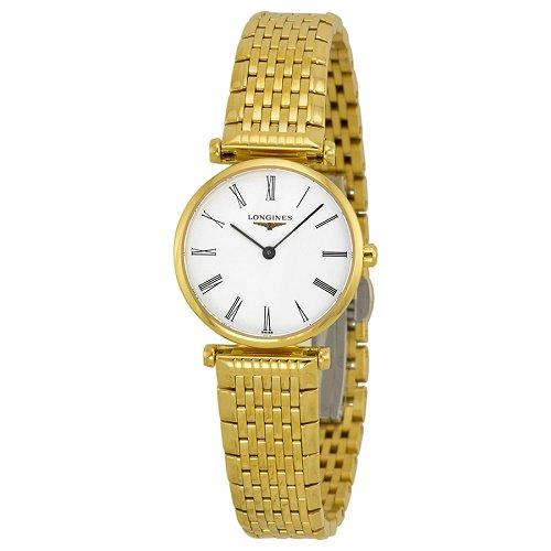 【Longines/ロンジン】 クオーツ腕時計 La Grande Classique ホワイトダイアル ゴールド レディース ドレスウォッチ LNG420921…