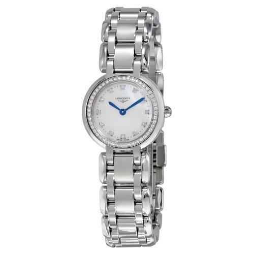 【Longines/ロンジン】 クオーツ腕時計 Primaluna パールダイアル ダイアモンド シルバー レディース ウォッチ LNG810908…
