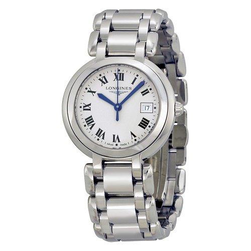【Longines/ロンジン】 クオーツ腕時計Prima Luna シルバーダイアル レディース ドレスウォッチ LNG811247…