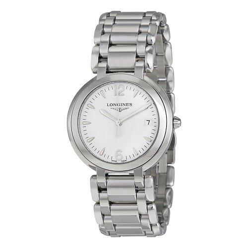 【Longines/ロンジン】 クオーツ腕時計Prima Luna ホワイトダイアル シルバー レディース ウォッチ LNG811441…