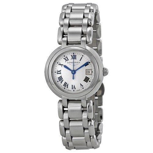 【Longines/ロンジン】 クオーツ腕時計Prima Luna シルバーダイアル ステンレスレディース ウォッチ LNG811047…