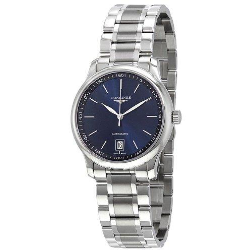 【Longines/ロンジン】 自動巻き腕時計 Master Collection ブルーダイアル シルバー メンズ ラグジュアリーウォッチ LNG262849…
