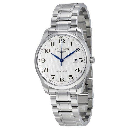 【Longines/ロンジン】 自動巻き腕時計 Master Collection シルバーダイアル ステンレス メンズ ラグジュアリーウォッチ LNG289347…